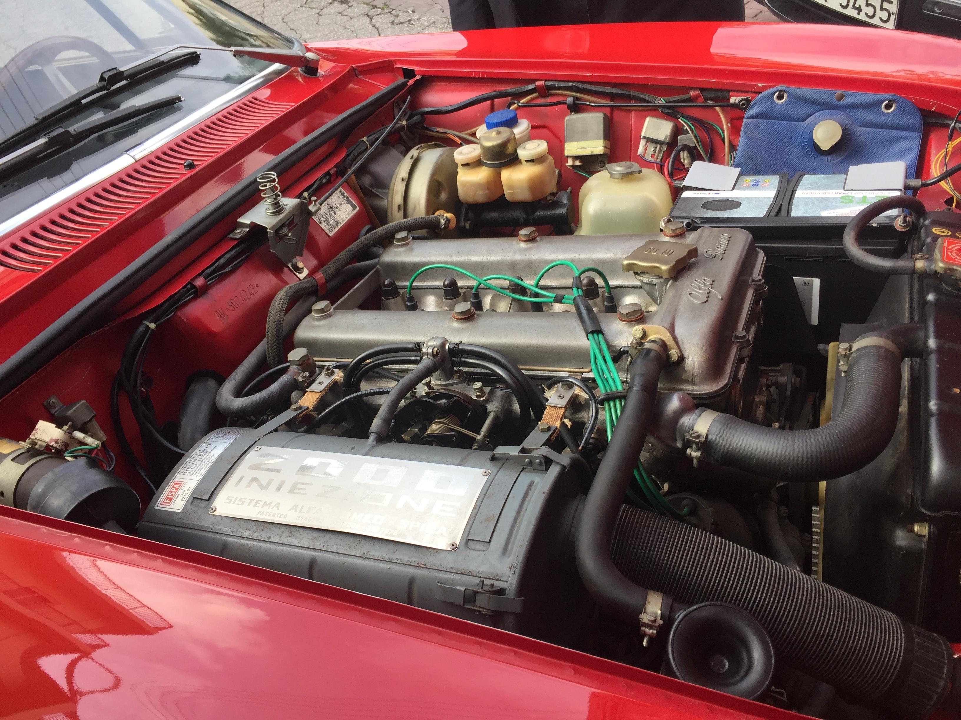 1974 Alfa Romeo 2000 Oldtimer zu verkaufen