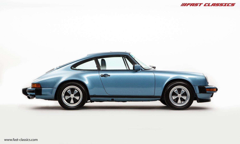 1986 Porsche 911 G Porsche 911 Carrera 32 Iris Blue