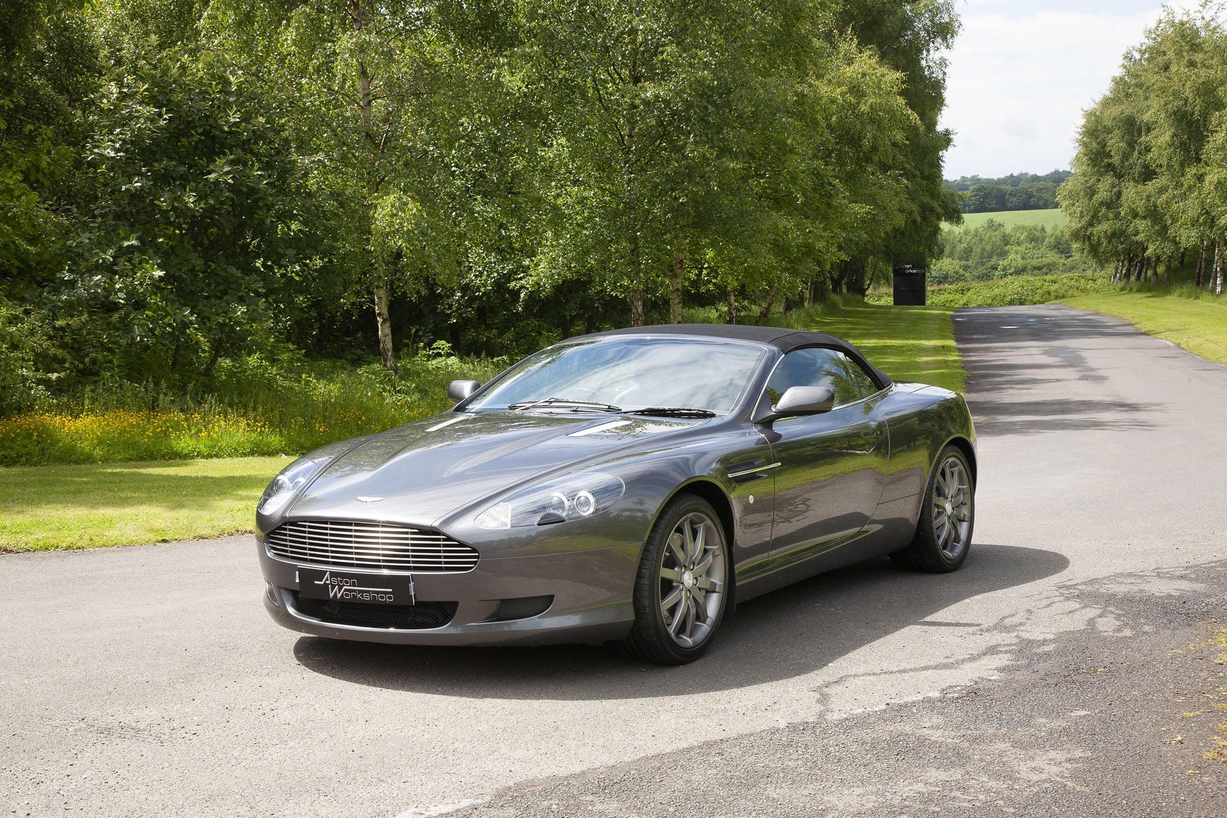 2007 Aston Martin Db9 Volante Classic Driver Market