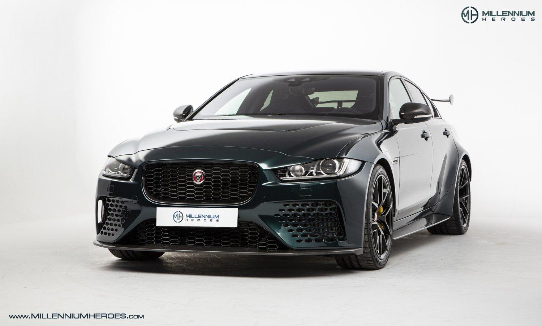 2019 Jaguar Xe Jaguar Xe Sv Project 8 1 Of 300 Limited Edition 1k Miles 1 Owner British Racing Green Classic Driver Market