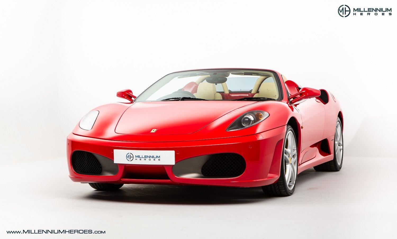 2008 Ferrari F430 Ferrari F430 Spider F1 Rosso Corsa Crema Full Ferrari History Uk Rhd Late Production Classic Driver Market