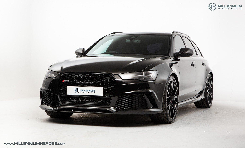 2017 Audi Rs 6 Audi C7 Rs6 Performance Panther Black Pan Roof 700 Bhp Upgrade Adaptive Air Suspension Classic Driver Market