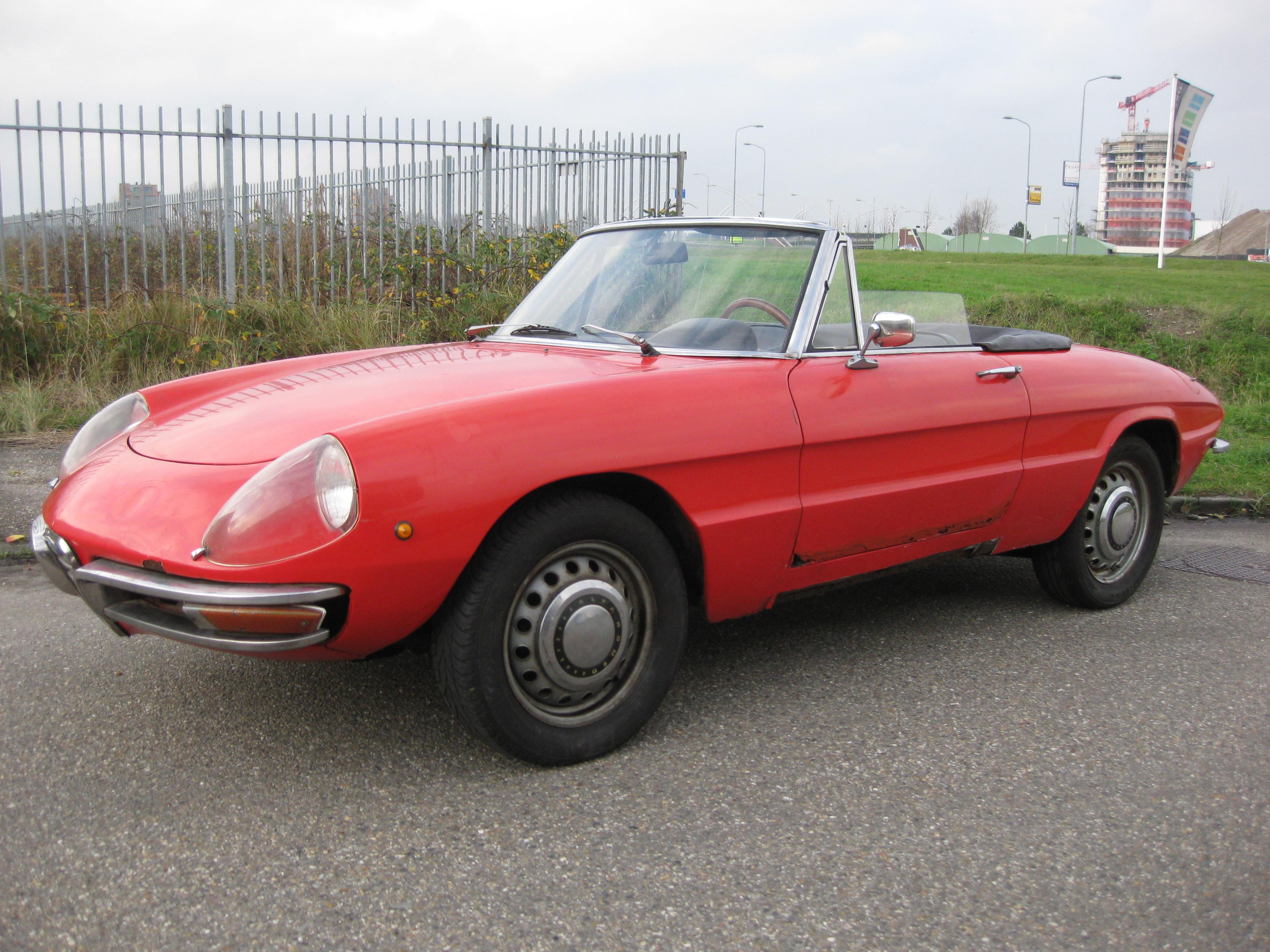1969 alfa romeo 1750 - spider veloce 'duetto' | classic driver market