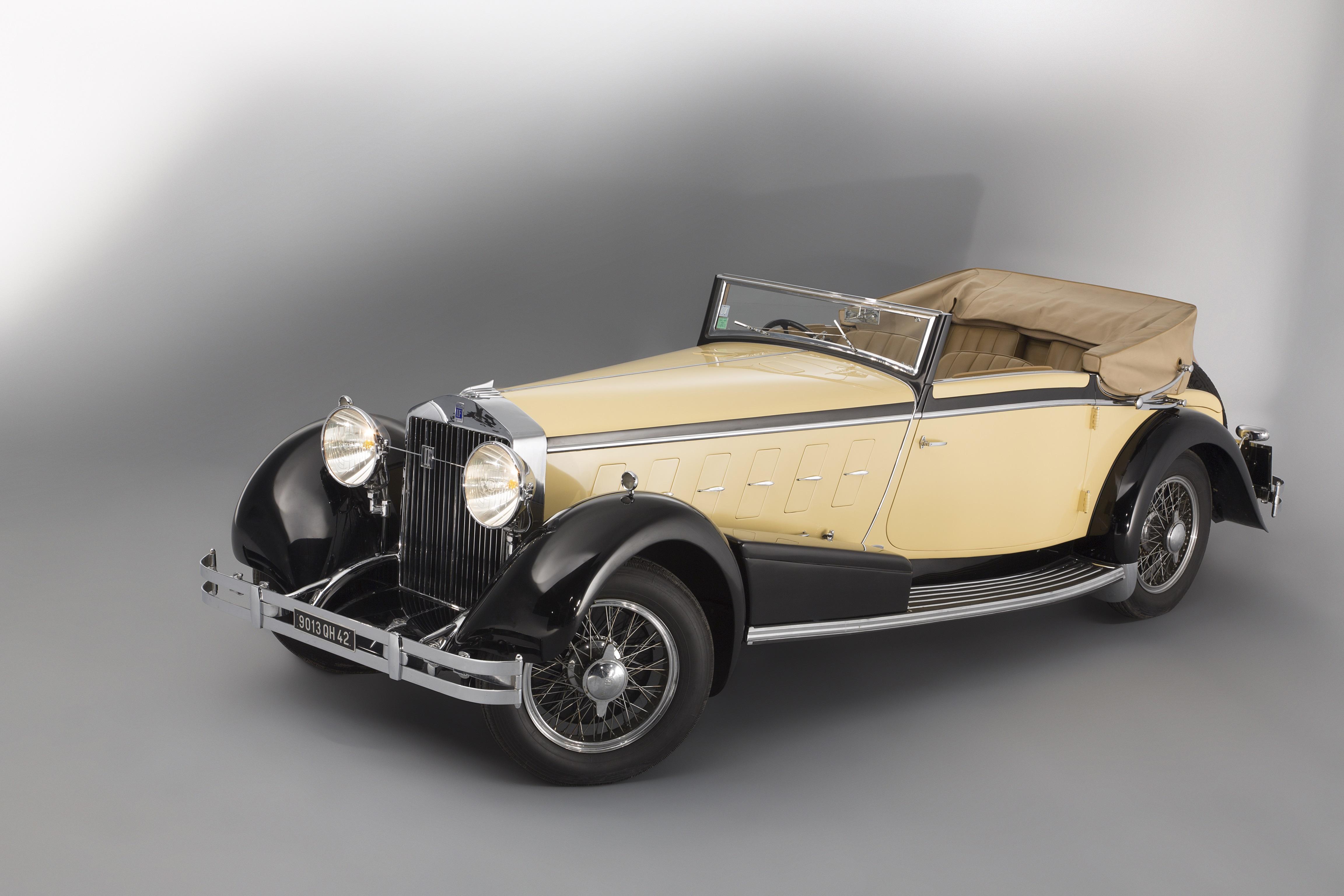 1924 Isotta Fraschini Model 8a Convertible By Ramseier