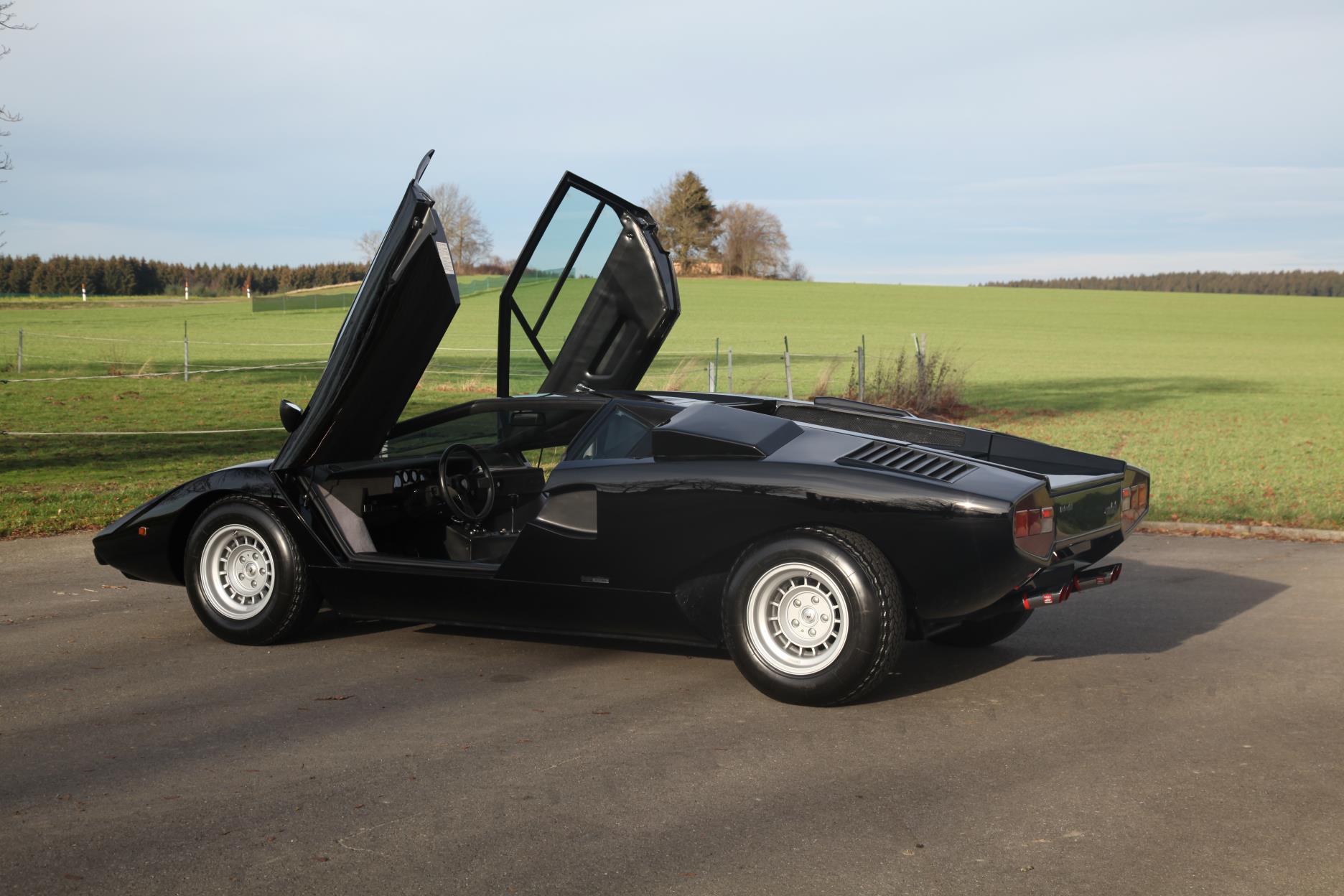 1975 Lamborghini Countach Lp400 Coupe Periscope