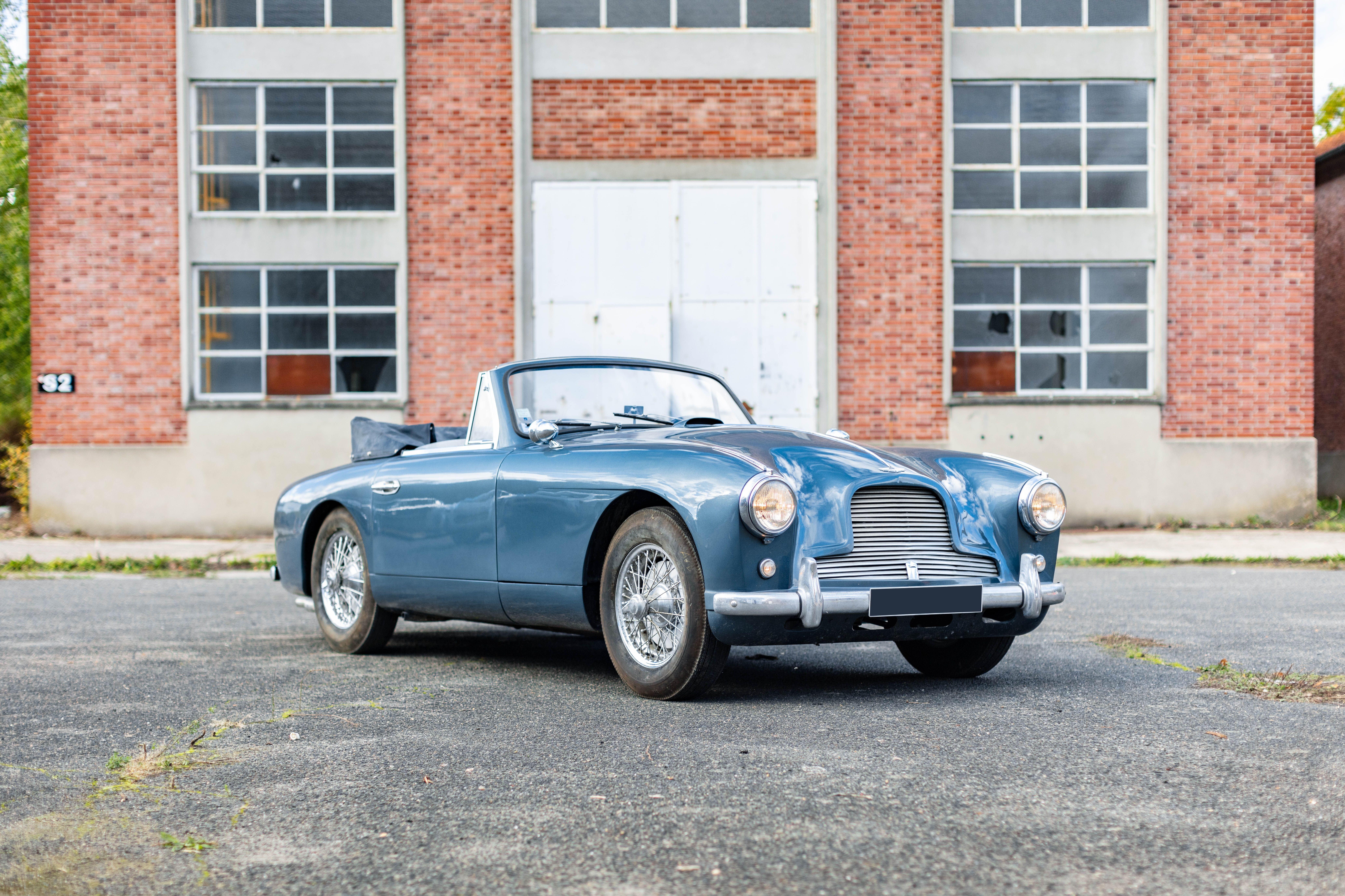 1955 Aston Martin Db2 4 Convertible Classic Driver Market