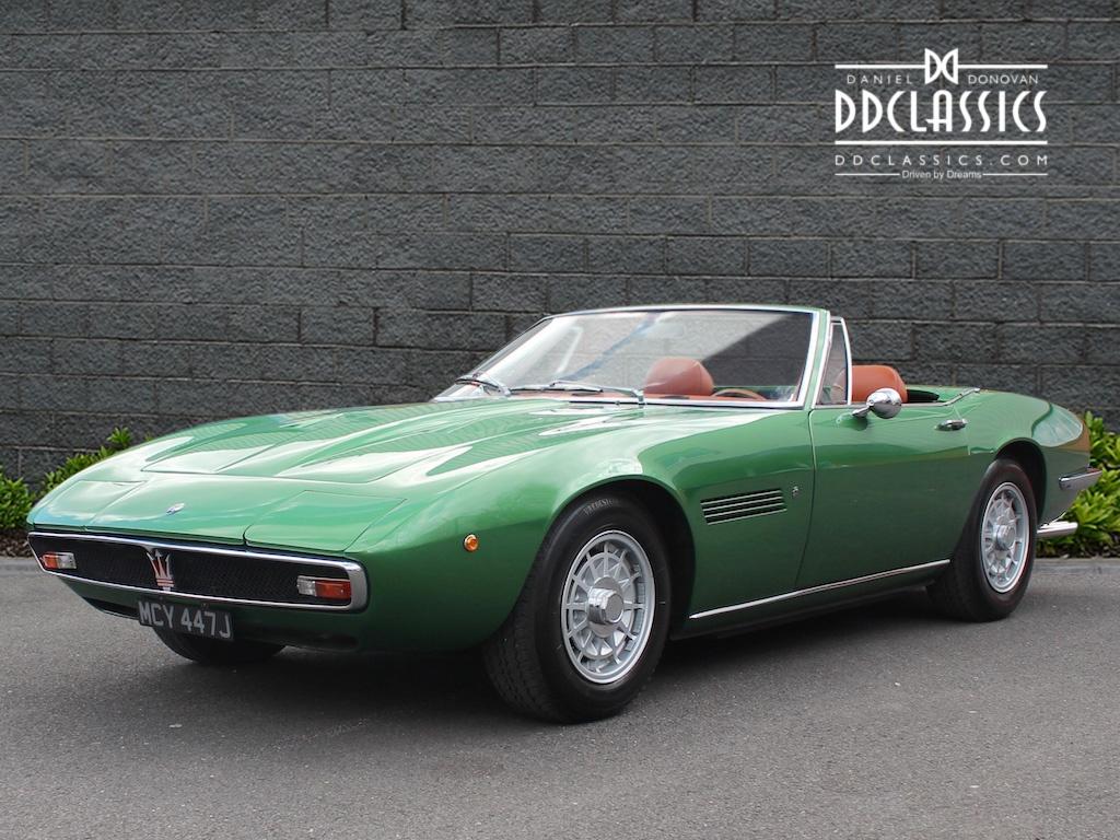 Maserati Ghibli Price >> 1971 Maserati Ghibli - 4.9 SS Spyder (LHD)   Classic ...