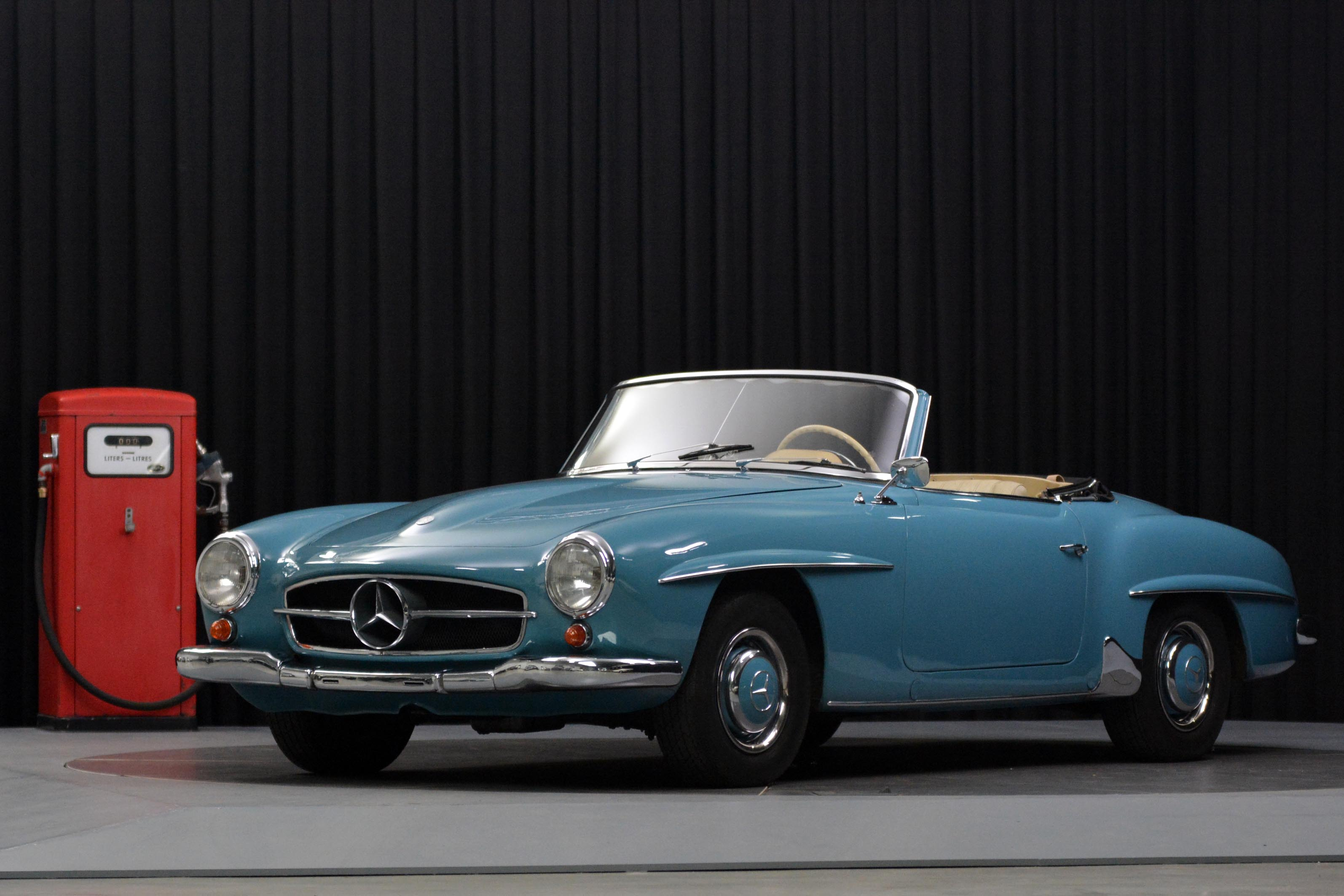 1958 mercedes benz sl 190 in very good condition for Mercedes benz european delivery