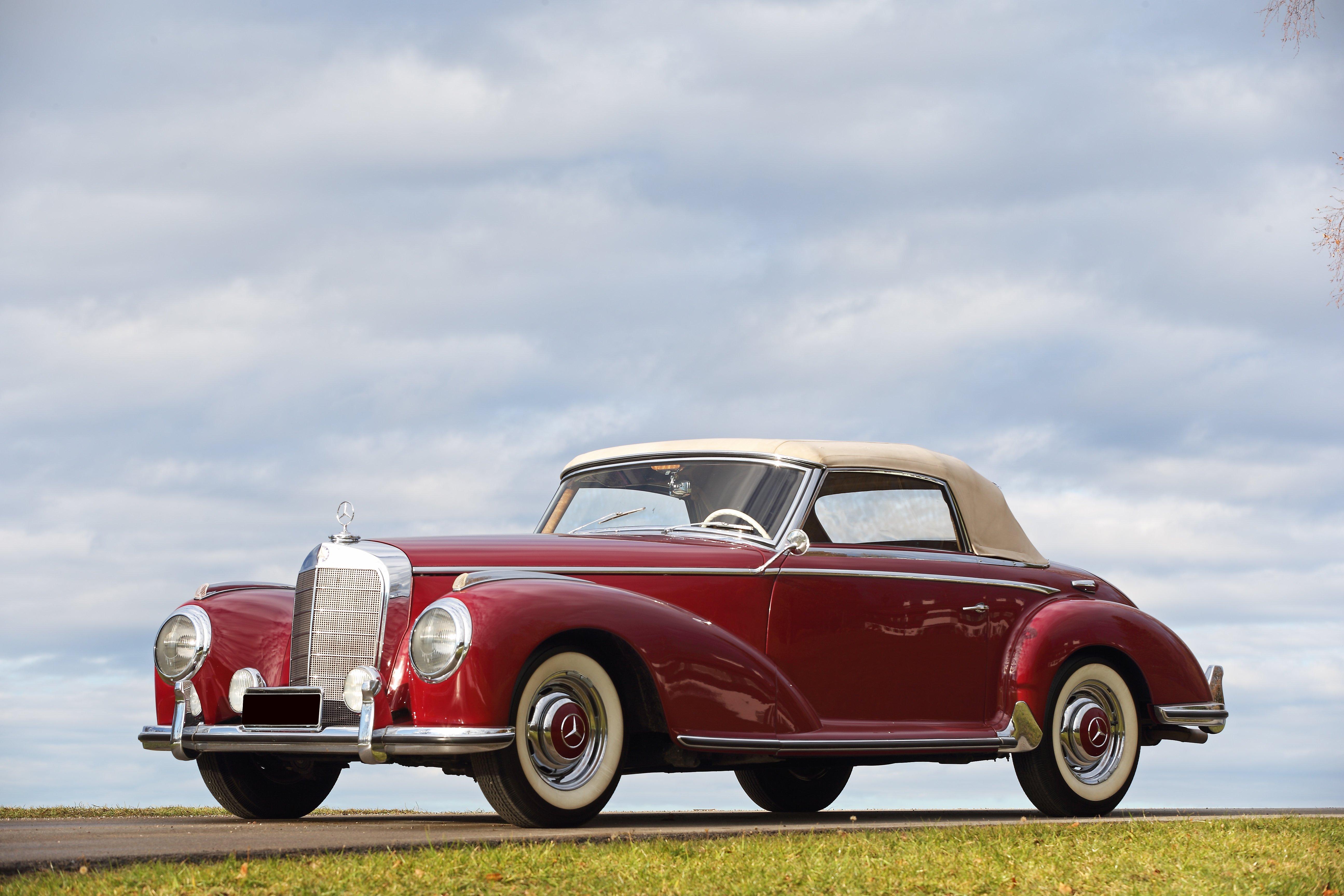 1953 mercedes benz 300 s roadster ex rosso bianco classic driver market. Black Bedroom Furniture Sets. Home Design Ideas