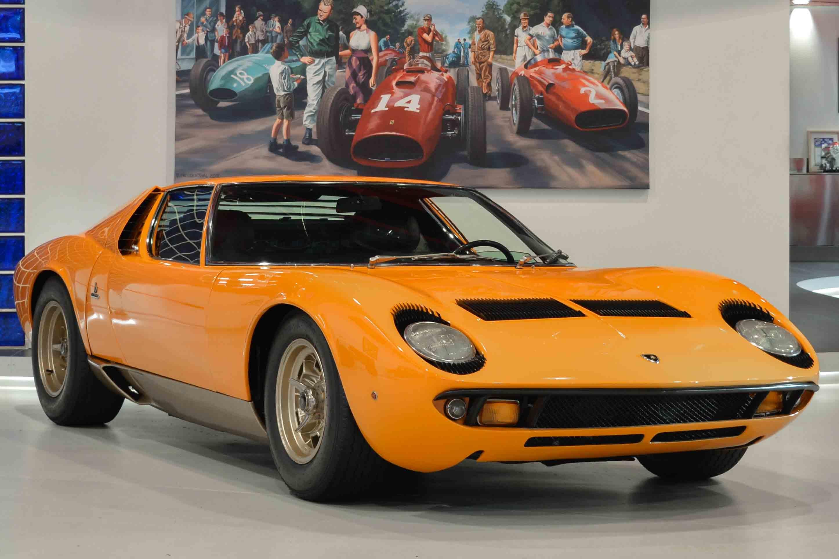 Used Car Auctions >> 1969 Lamborghini Miura | Classic Driver Market