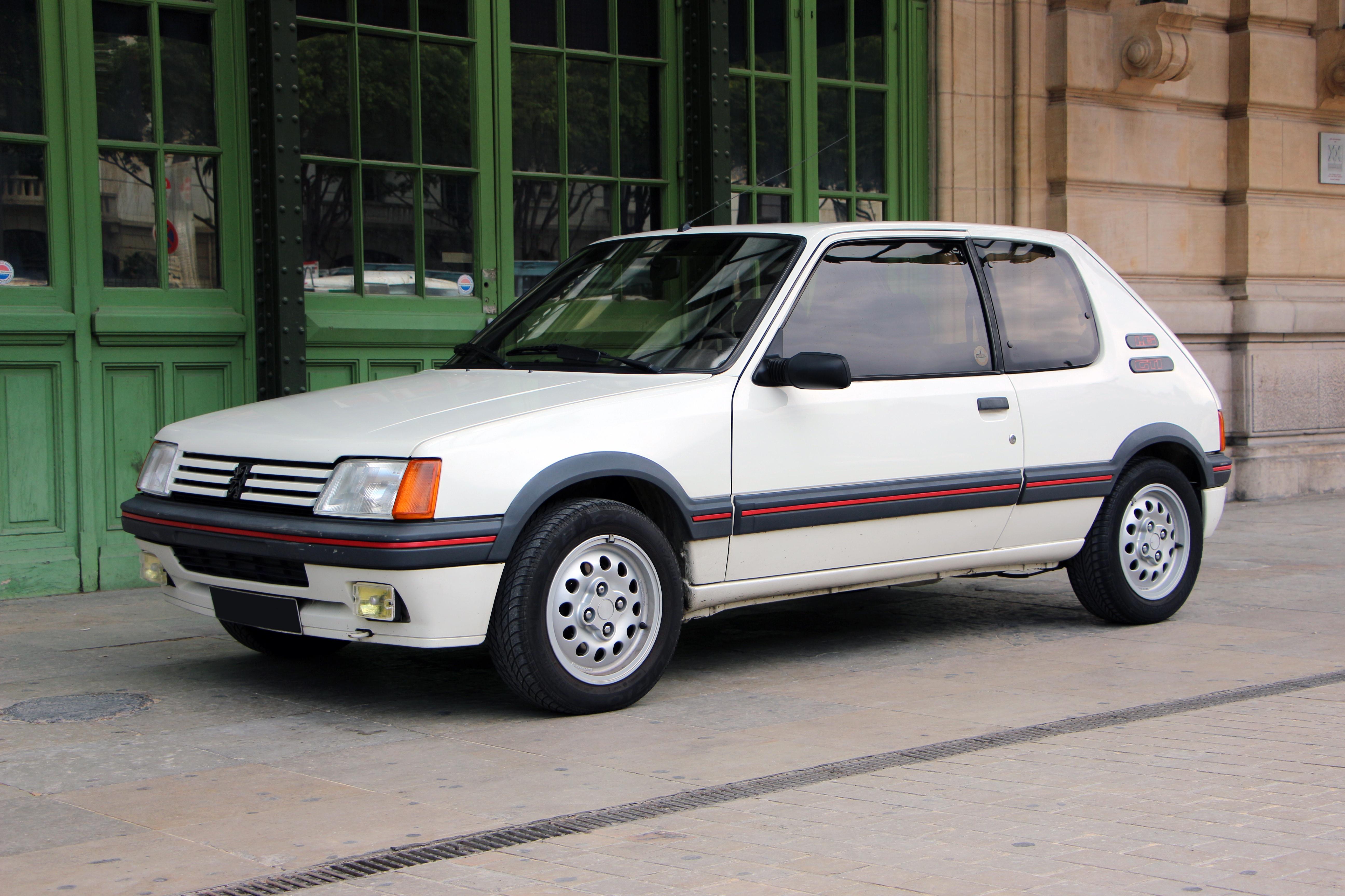 1987 peugeot 205 gti 1 6 classic driver market. Black Bedroom Furniture Sets. Home Design Ideas