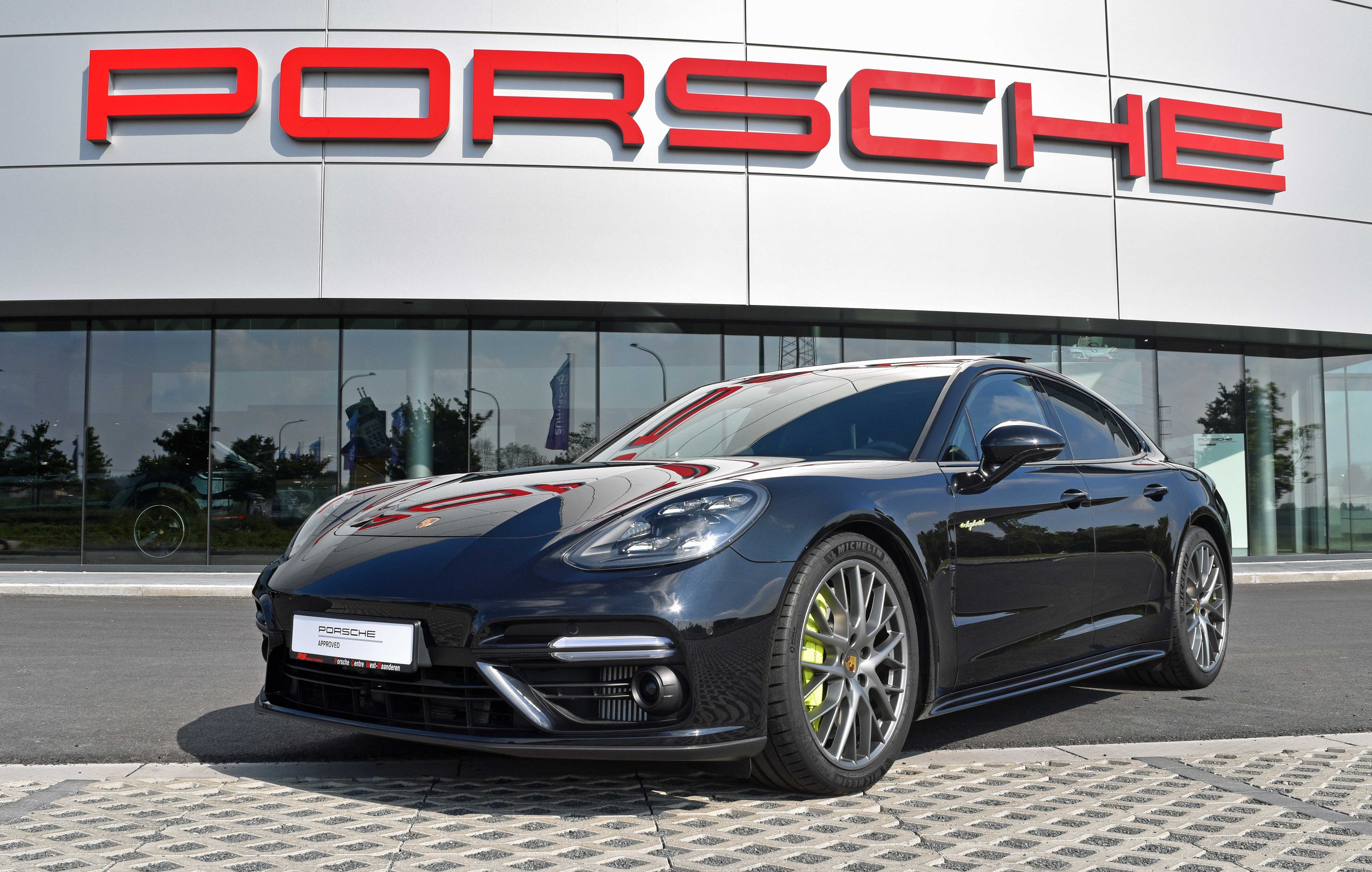 2017 Porsche Panamera Turbo S E Hybrid Porsche Approved Rs Motors Porsche Centre West Vlaanderen Belgium Classic Driver Market