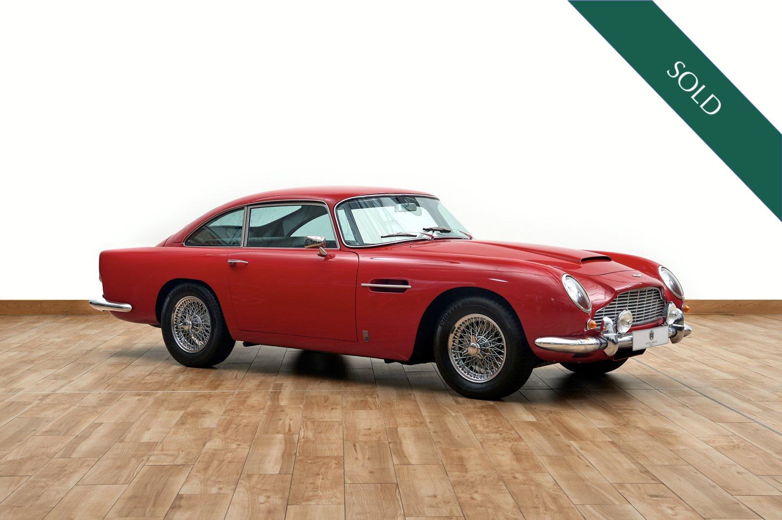 1963 Aston Martin Db5 Sports Saloon Classic Driver Market