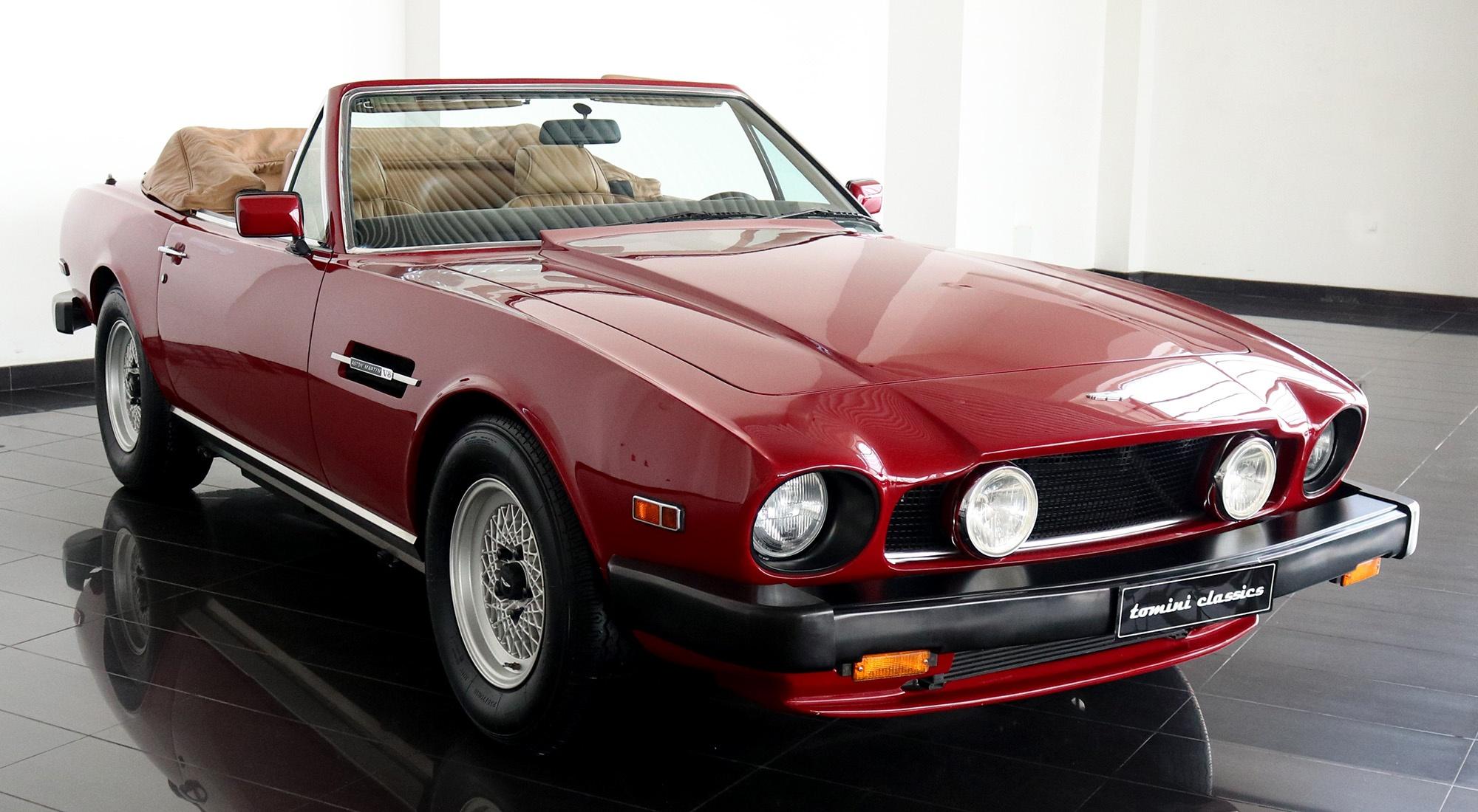 1988 Aston Martin V8 Volante Classic Driver Market