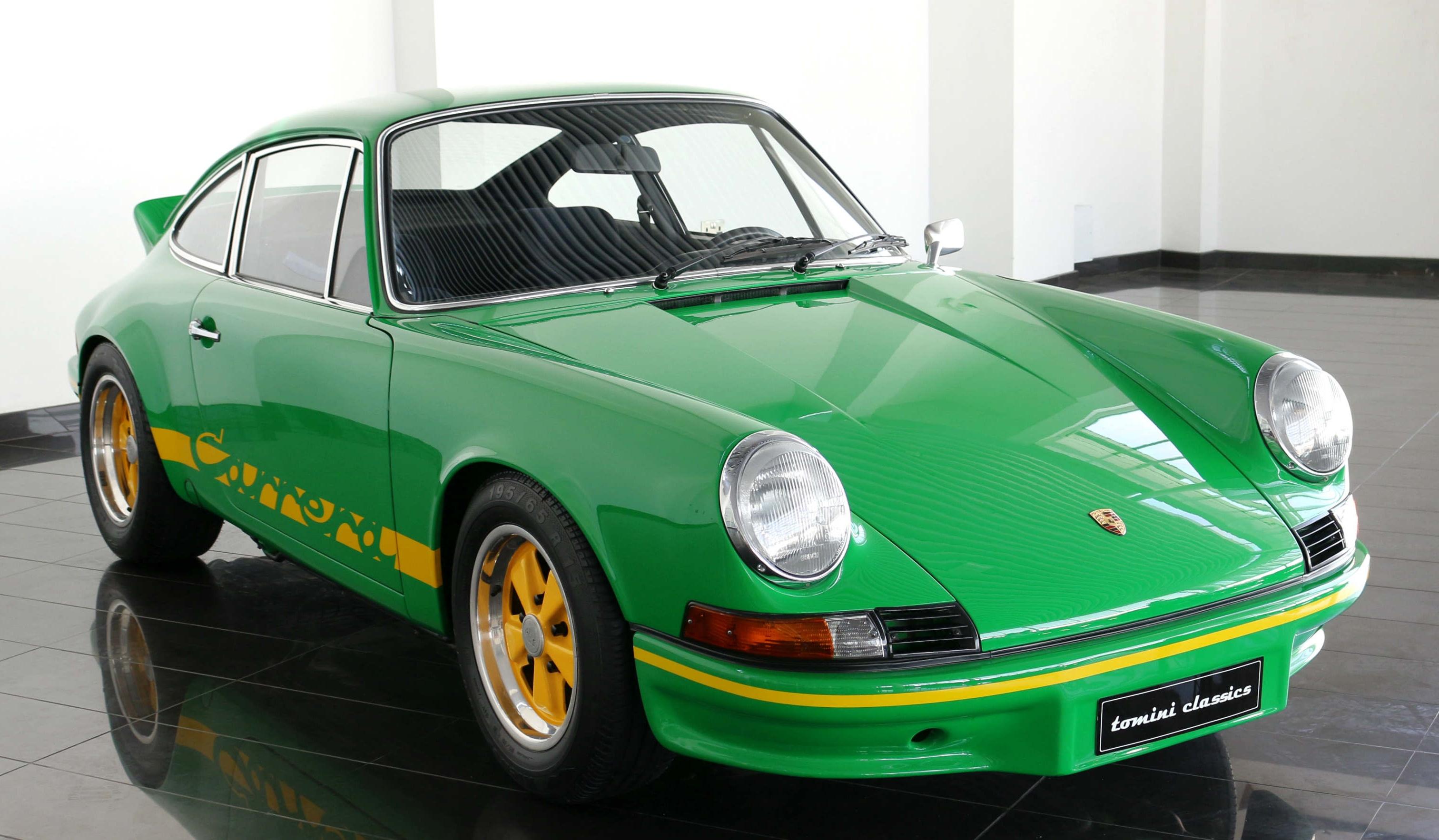 1973 Porsche 911 Carrera Rs 2 7 Lightweight Classic Driver Market
