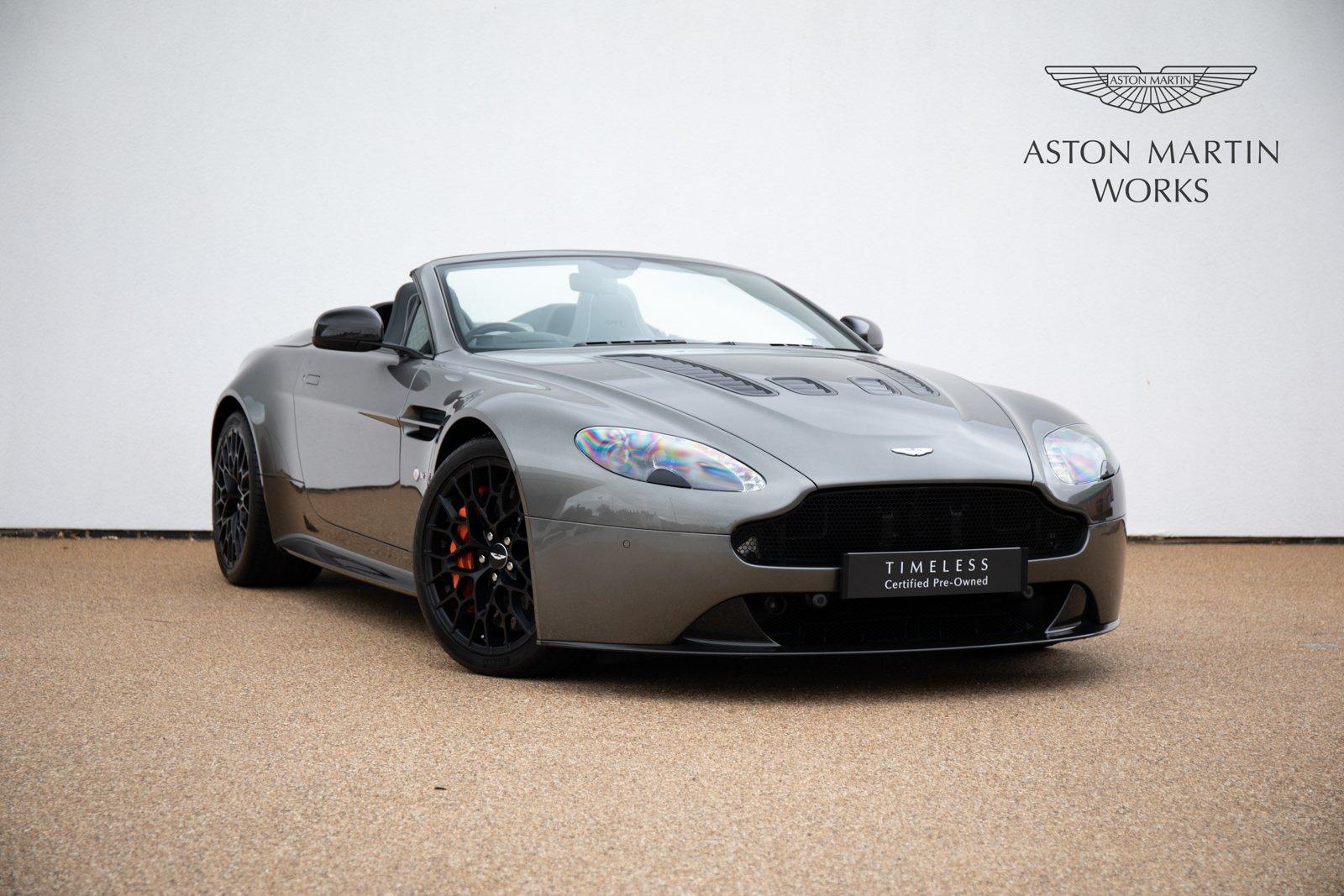 2017 Aston Martin V12 Vantage Amr Manual Transmission Classic Driver Market