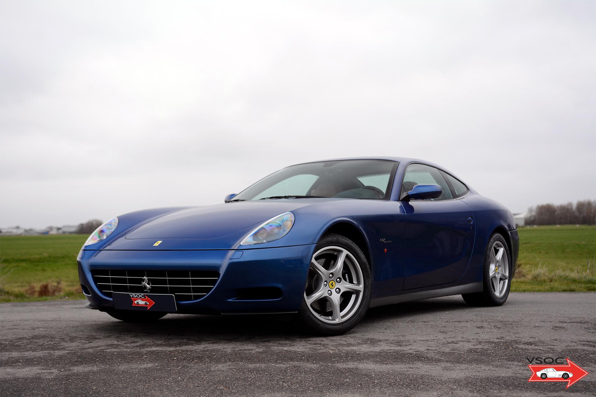 2005 Ferrari 612 Scaglietti Blu Mirabeau Low Mileage Classic Driver Market