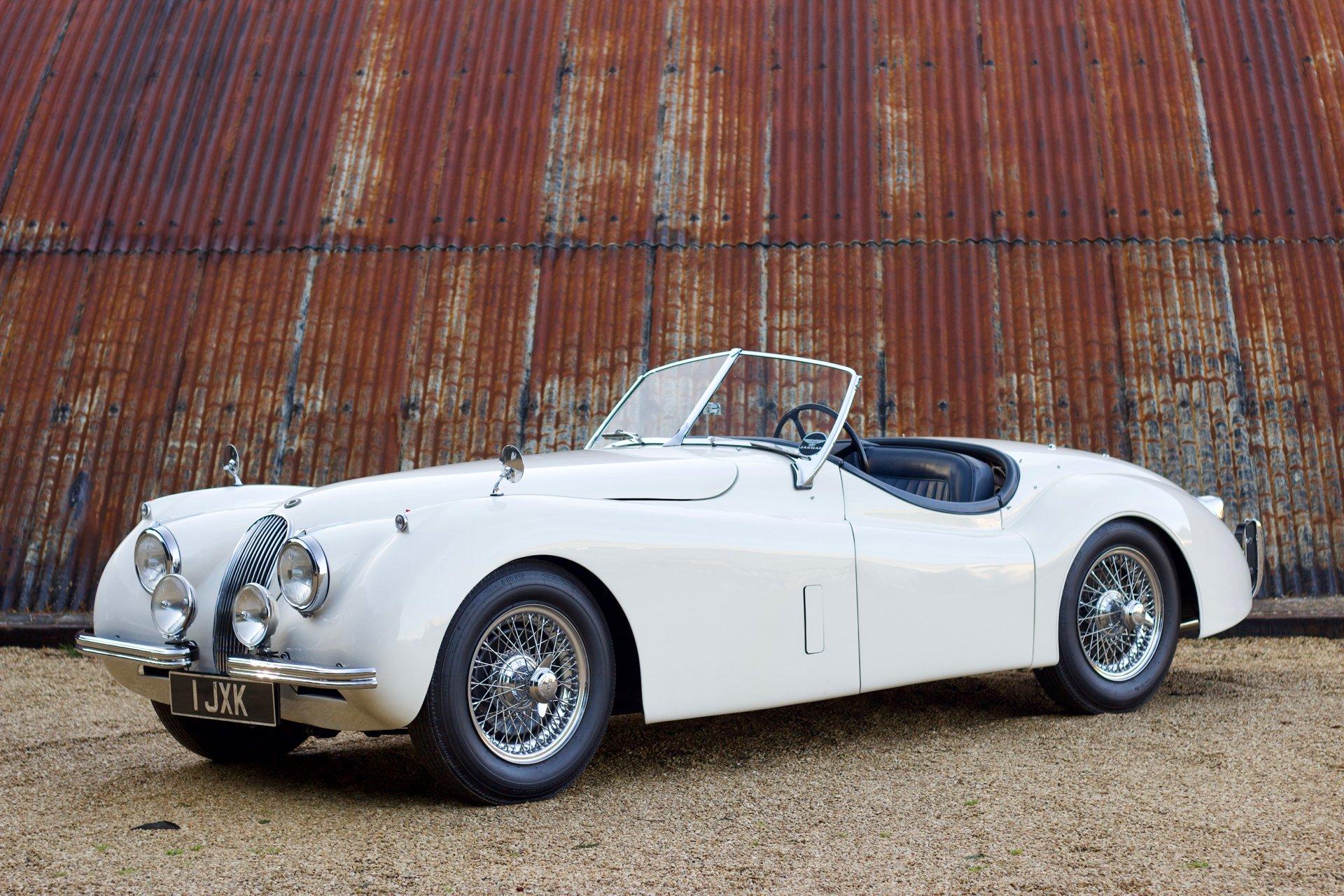 1954 Jaguar Xk 120 Se Roadster Vintage Car For Sale