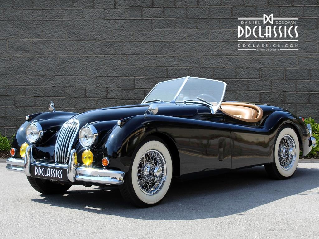 1955 Jaguar Xk 140 Vintage Car For Sale