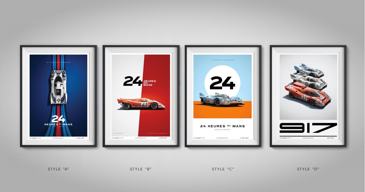 Porsche 917 Poster Set Classic Driver Market