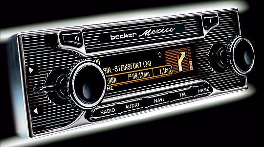 New Car Radios That Look Vintage