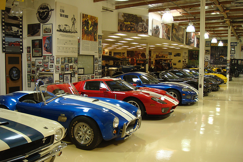 Garage guy jay leno and his classic cars classic driver magazine - Site internet garage automobile ...