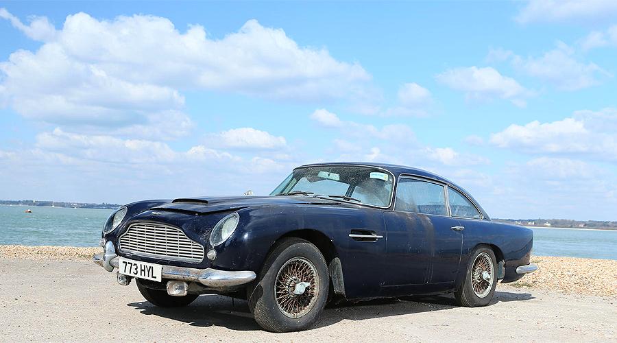 Barn-finds return home: Bonhams' Aston Martin sale at ...