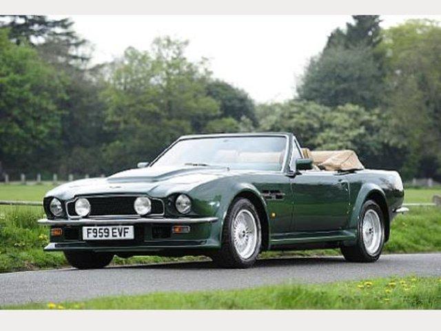 1988 Aston Martin V8 Vantage Volante 6 3 Litre Classic Driver Market