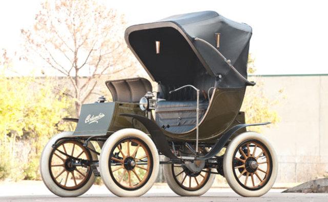 1908 Columbia Electric Landaulet Victoria Phaeton Classic