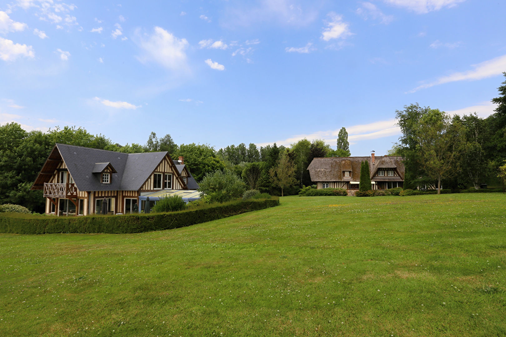 Property with indoor swimming pool for sale near Deauville ...