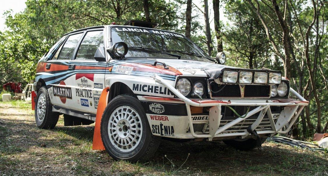 Werks-Lancia Delta als Attraktion der neuen Leclere Auktion ...