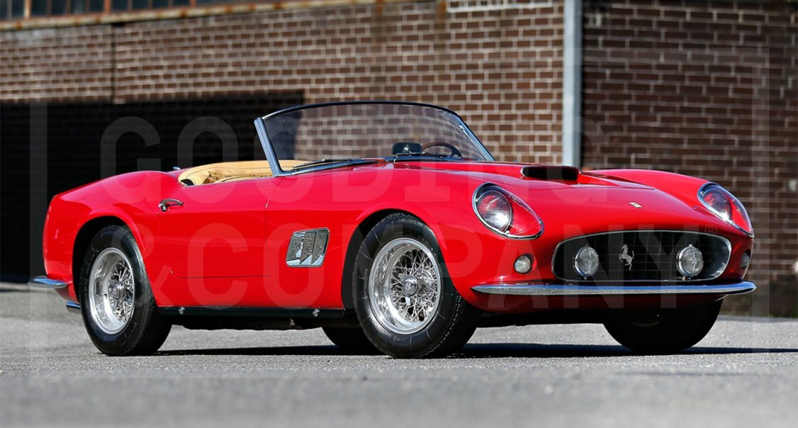 The 10 Most Expensive Cars Auctioned In 2014 Totalled 141m