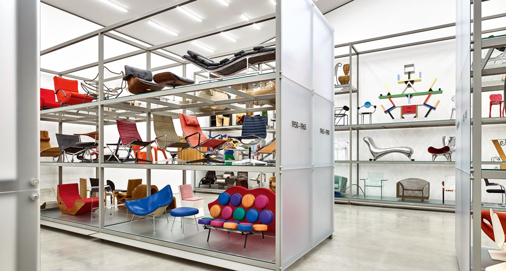 Dive into the history of design at the new vitra for Vitra museum basel