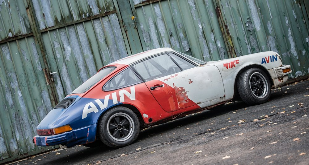 Just Do It With This Ex Acropolis Rally Porsche 911 Classic Driver