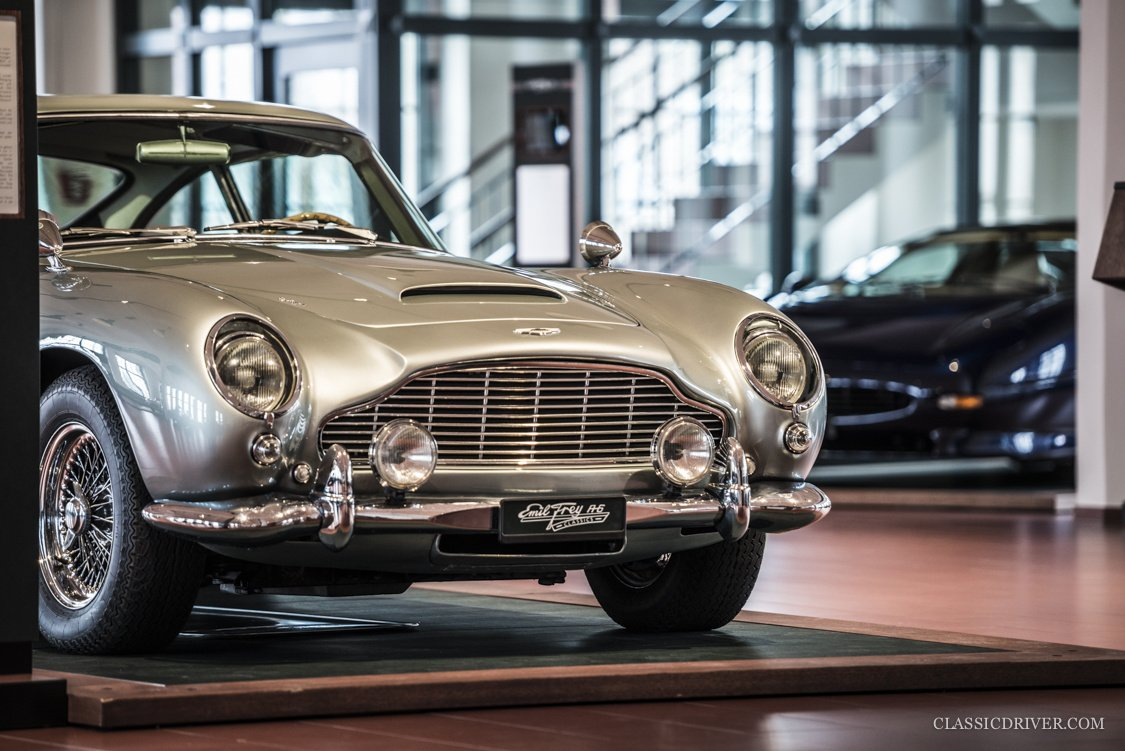 Emil Frey Classics is the heart of the Swiss classic car