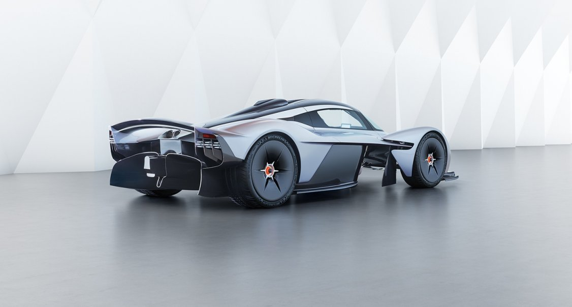 The Near Production Aston Martin Valkyrie Is Even Better Than The
