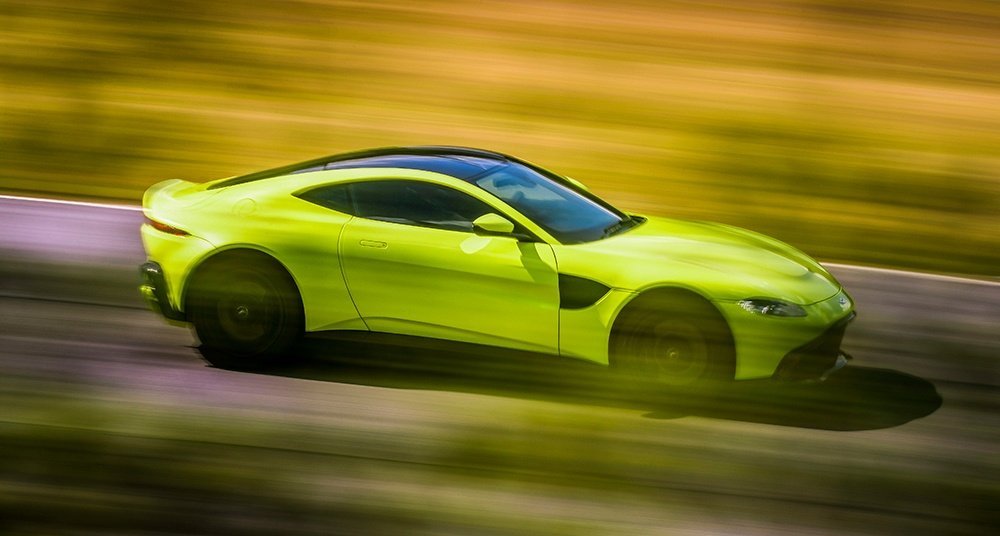 We Just Got the First Look at the All-New Aston Martin V8 Vantage