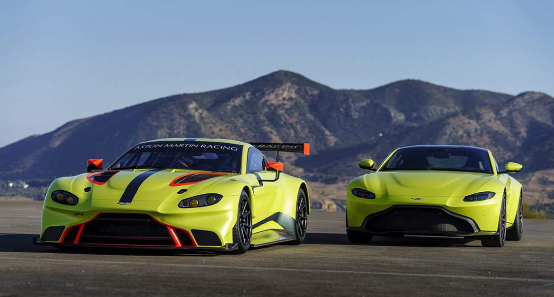 New Aston Martin Racing Vantage GTE revealed