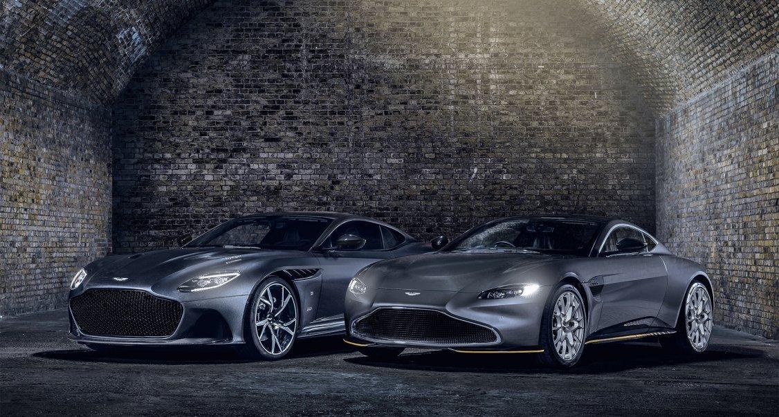The Perfect Aprés Bond Drive With This Ski Laden Aston Martin Vantage Classic Driver Magazine