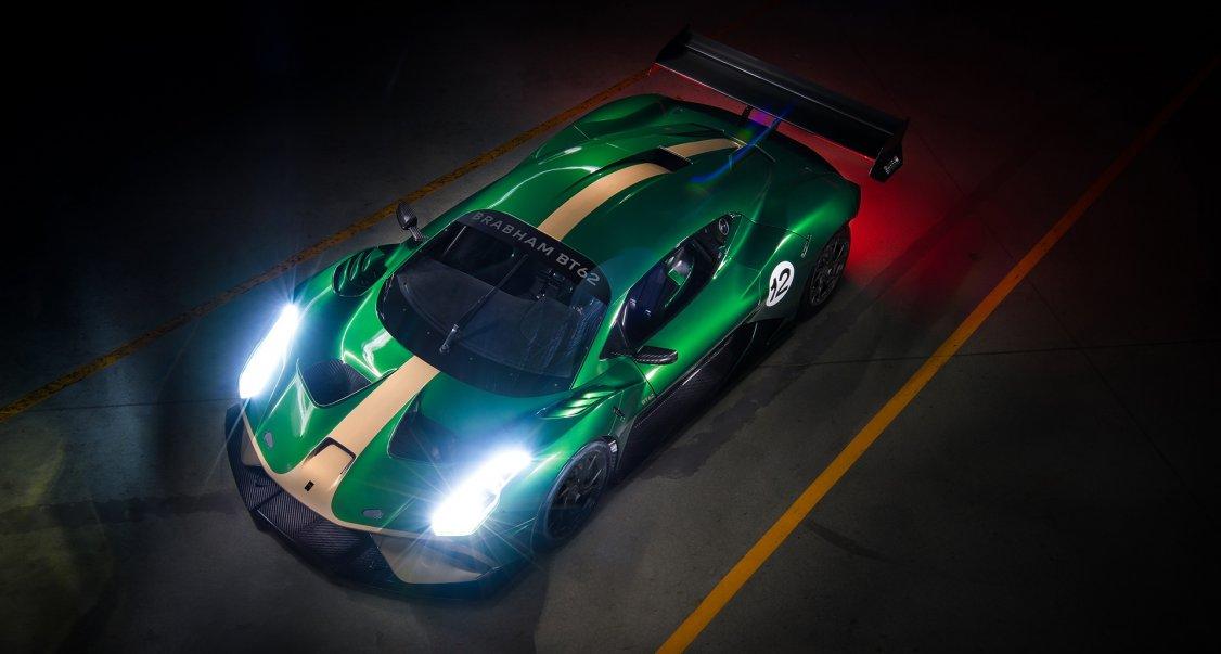 Brabham reveals £1 million track vehicle