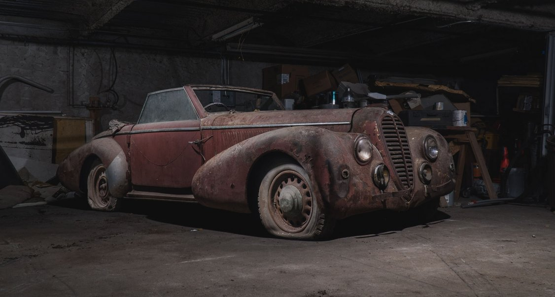 Is 2018 The Year Of The Barn Find Classic Driver Magazine
