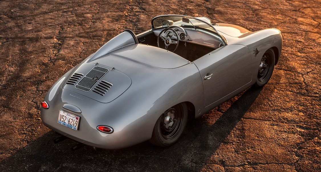 Porsche Driving Experience >> This custom Porsche 356 Roadster is an out-there Outlaw ...