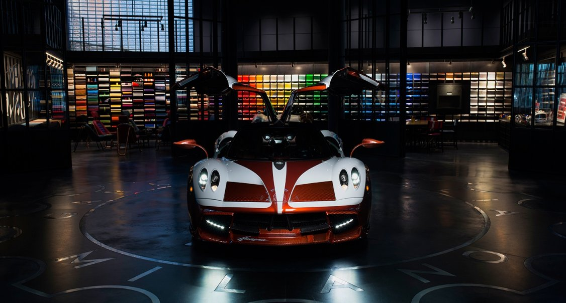 The Pagani Huayra Lampo Proves Theres No Thunder Without Lightning