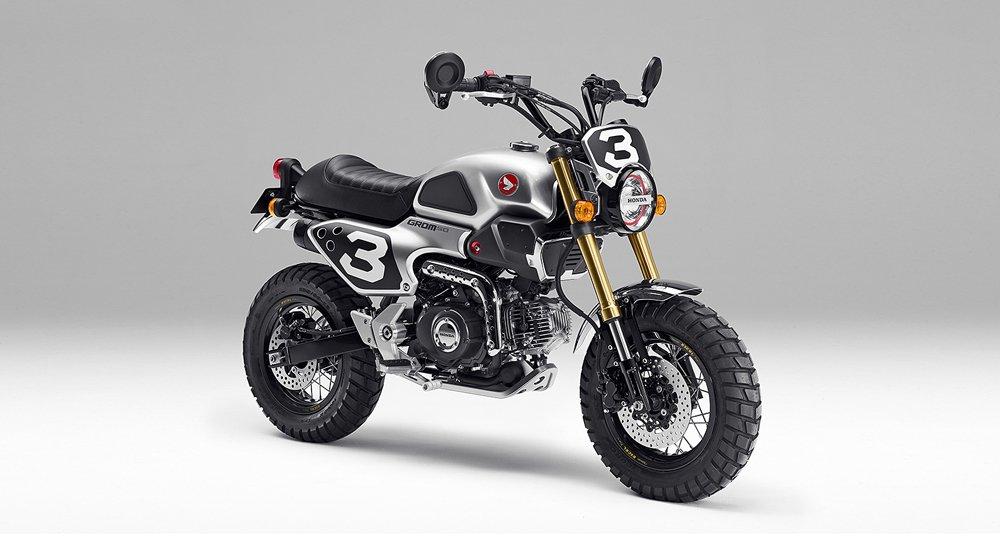 Die Honda Grom 50 Scrambler Concepts wollen nur spielen ...