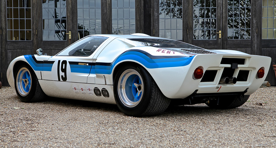 This Ford Gt40 Served Up Racing Success And Retail Therapy