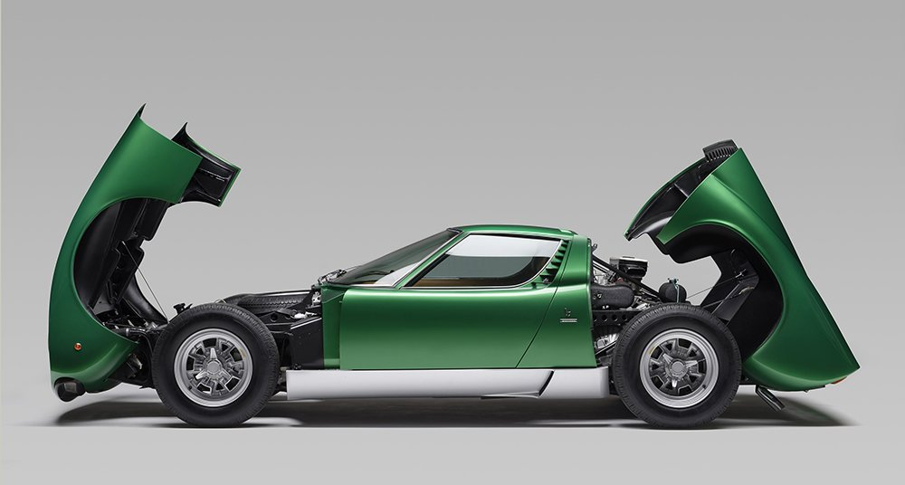 This Prototype Lamborghini Miura Is Polostorico S First Restoration