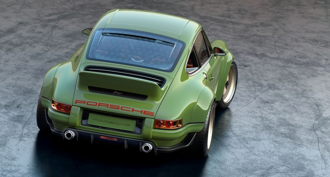 Singer finally reveals its 500-HP Porsche monster
