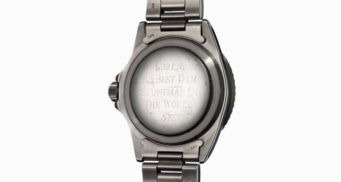 6f34aa57aa Steve McQueen s Rolex Submariner to be sold by Phillips in New York ...