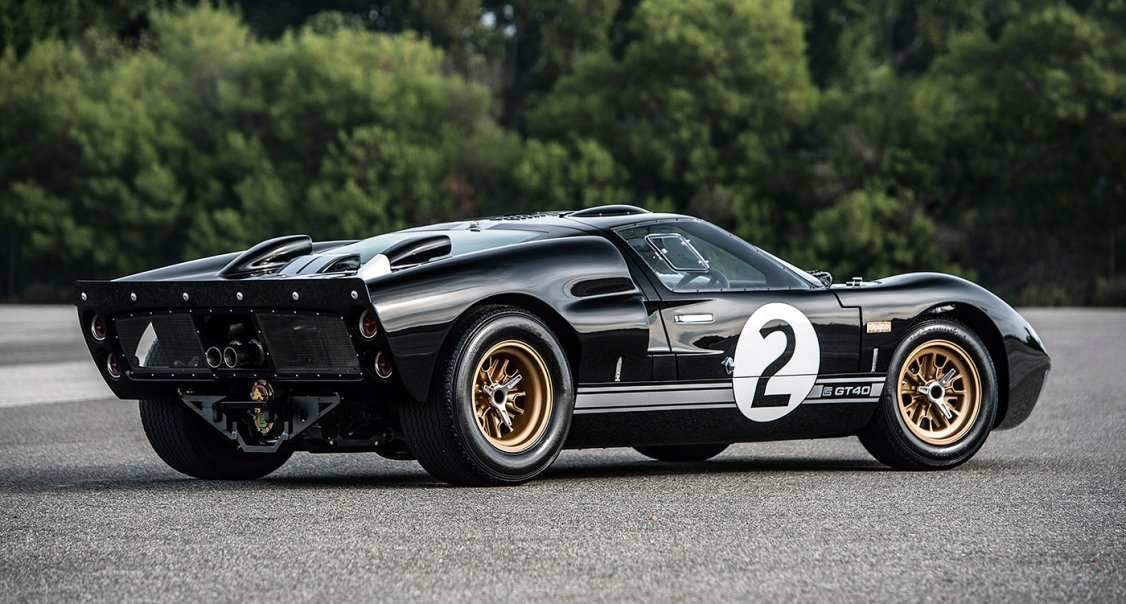 emulate bruce mclaren with shelby's latest continuation ford gt40