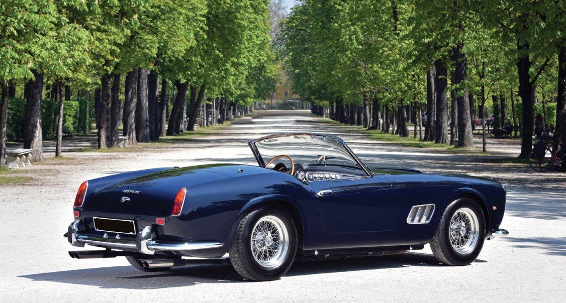 Rm Sotheby S To Sell Ferrari California Spider At Villa Erba Sale